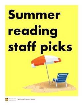 Library staff summer readingpicks