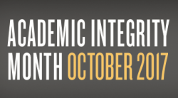 Academic Integrity Month
