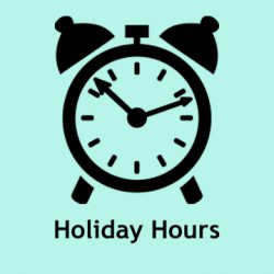 Winter Break Hours at NJM
